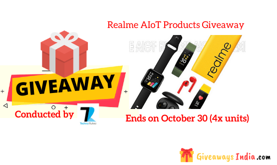 Realme AIoT Products Giveaway