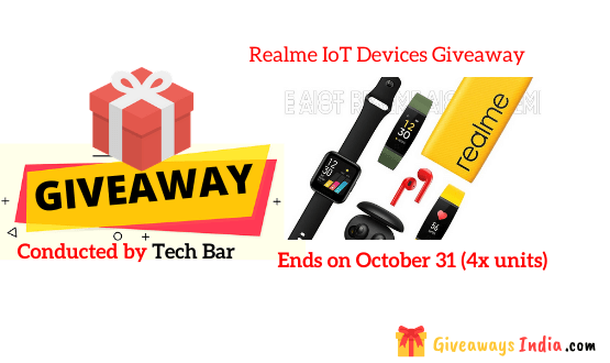 Realme IoT Devices Giveaway