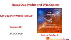 Status Quo Predict and Win Contest