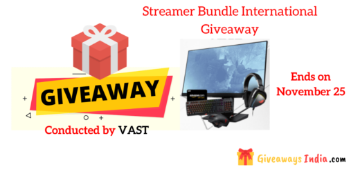 Streamer Bundle International Giveaway