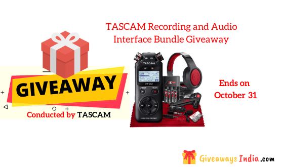 TASCAM Recording and Audio Interface Bundle Giveaway