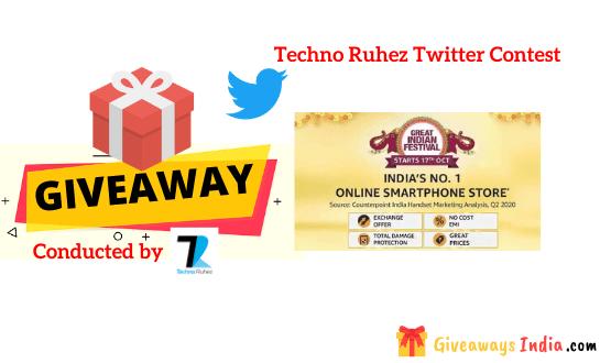 Techno Ruhez Twitter Contest