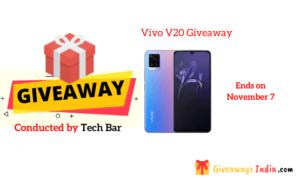 Vivo V20 Giveaway