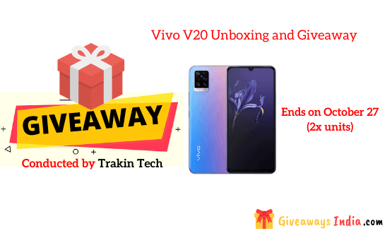 Vivo V20 Unboxing and Giveaway