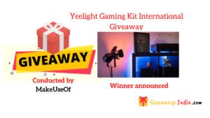 Yeelight Gaming Kit International Giveaway