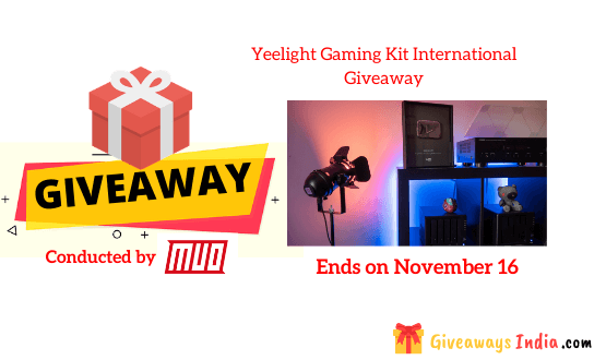 Yeelight Gaming Kit International Giveaway