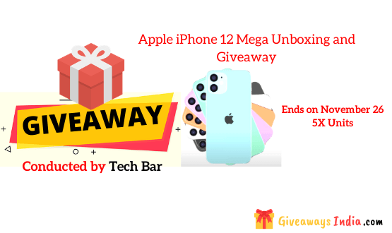 Apple iPhone 12 Mega Unboxing and Giveaway