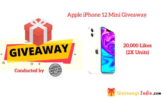 Apple iPhone 12 Mini Giveaway