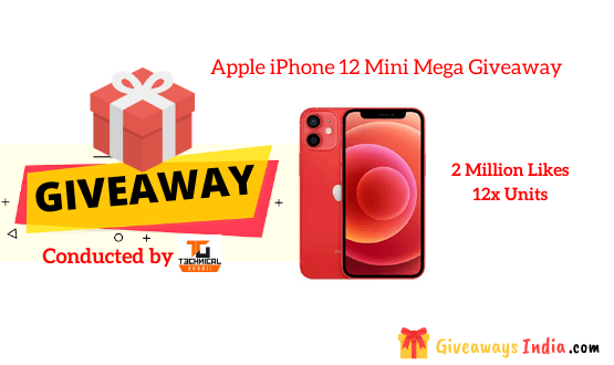 Apple iPhone 12 Mini Mega Giveaway