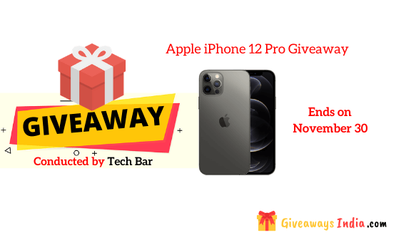 Apple iPhone 12 Pro Giveaway