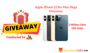 Apple iPhone 12 Pro Max Mega Giveaway