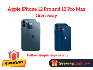 Apple iPhone 12 Pro and 12 Pro Max Giveaway
