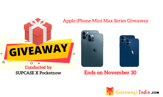 Apple iPhone Mini Max Series Giveaway