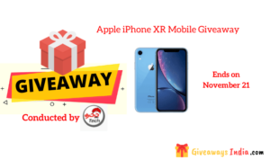 Apple iPhone XR Mobile Giveaway