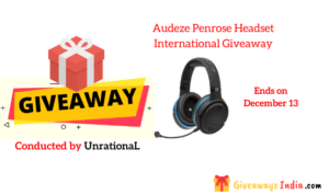 Audeze Penrose Headset International Giveaway