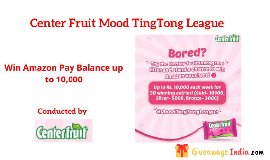 Center Fruit Mood TingTong League