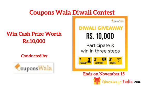 Coupons Wala Diwali Contest