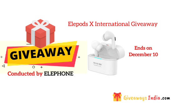 Elepods X International Giveaway