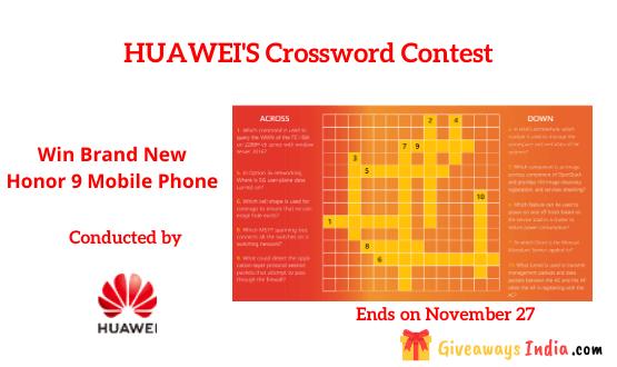 HUAWEI'S Crossword Contest
