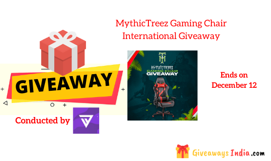 MythicTreez Gaming Chair International Giveaway
