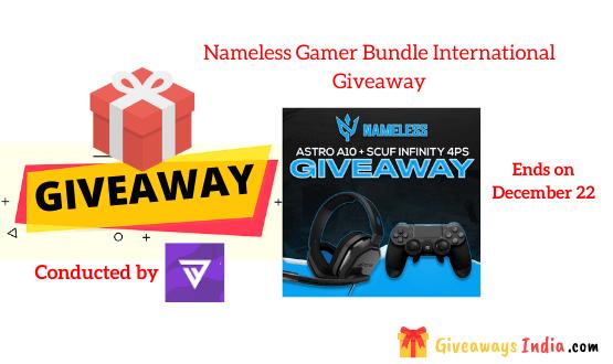 Nameless Gamer Bundle International Giveaway