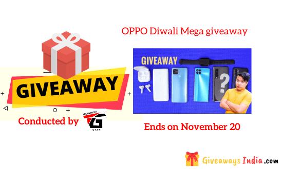 OPPO Diwali Mega giveaway