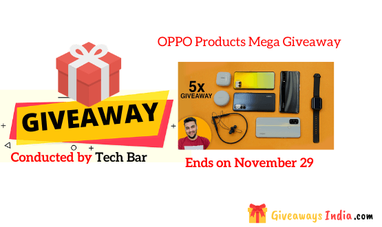 OPPO Products Mega Giveaway