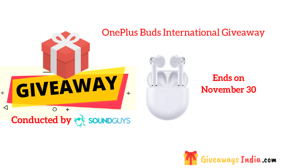 OnePlus Earbuds International Giveaway
