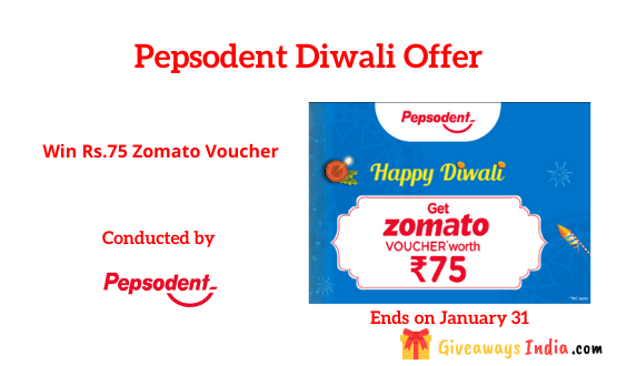 Pepsodent Diwali Offer