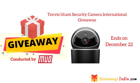 Tenvis Ucam Security Camera International Giveaway