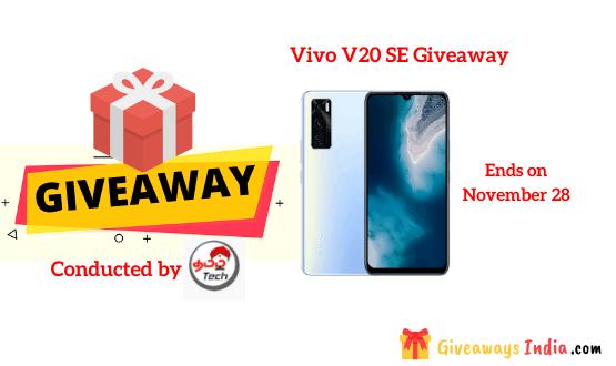 Vivo V20 SE Giveaway