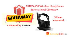 ASTRO A50 Wireless Headphones International Giveaway