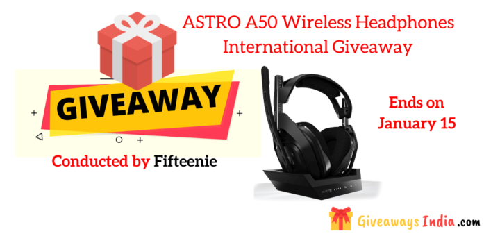 ASTRO A50 Wireless Headphones International Giveaway