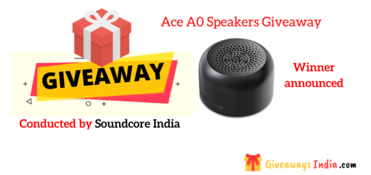 Ace A0 Speakers Giveaway
