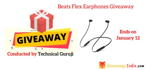 Beats Flex Earphones Giveaway