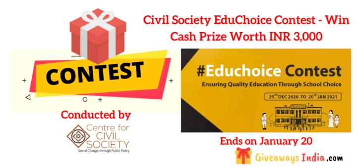 Civil Society EduChoice Contest