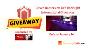 Govee Immersion DIY Backlight International Giveaway