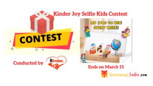 Kinder Joy Selfie Contest