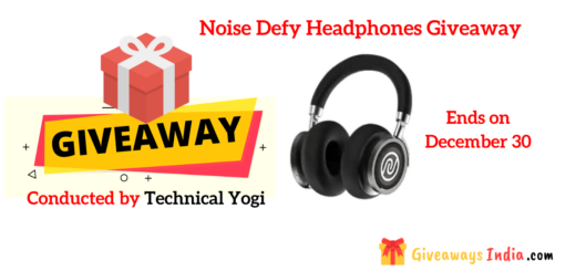 Noise Defy Headphones Giveaway