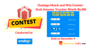 Onsitego Match and Win Contest
