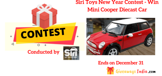 Siri Toys New Year Contest