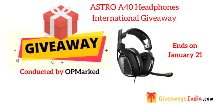 ASTRO A40 Headphones International Giveaway