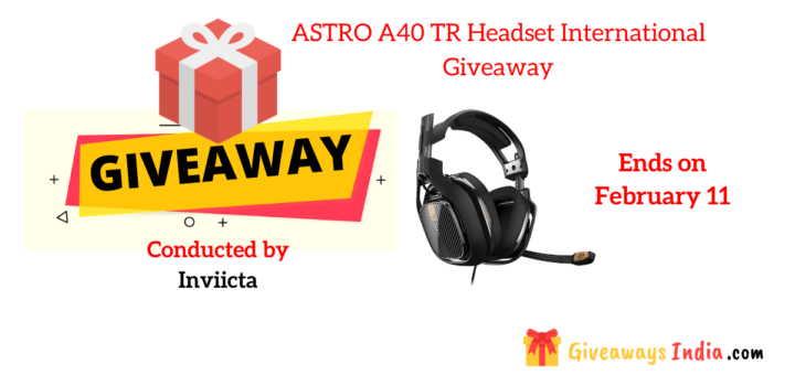 ASTRO A40 TR Headset International Giveaway