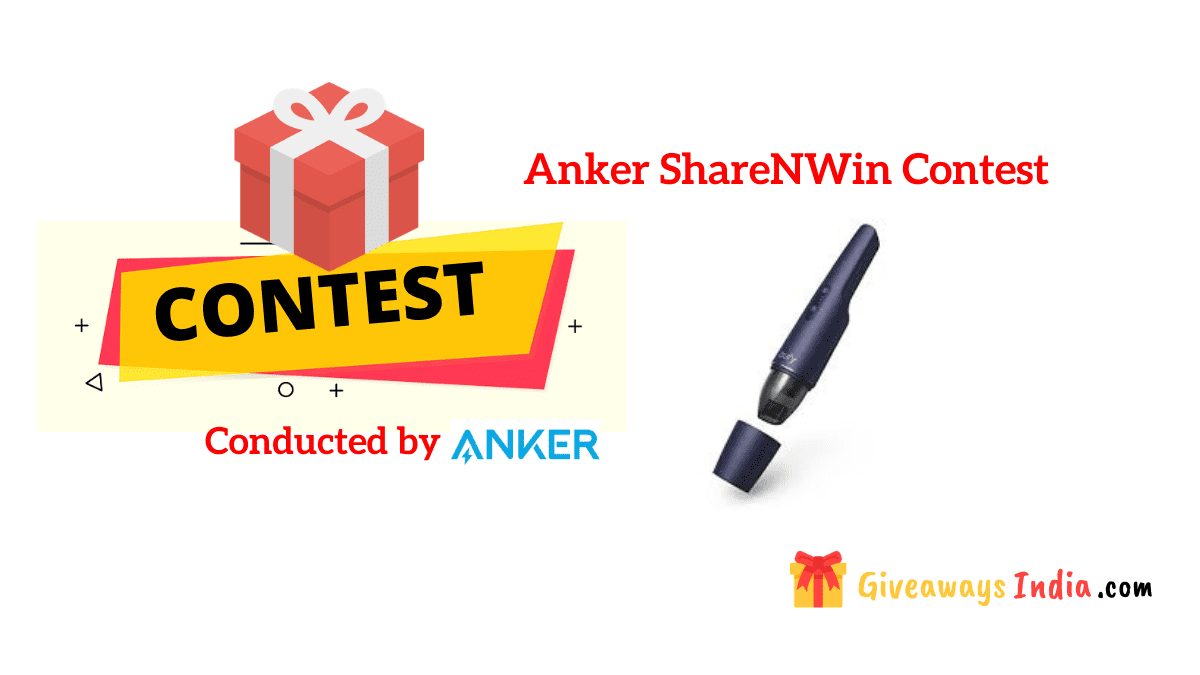 Anker Share and Win Contest