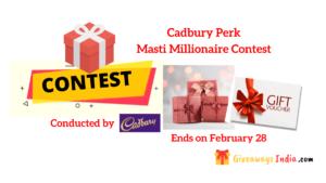 Cadbury Perk Contest