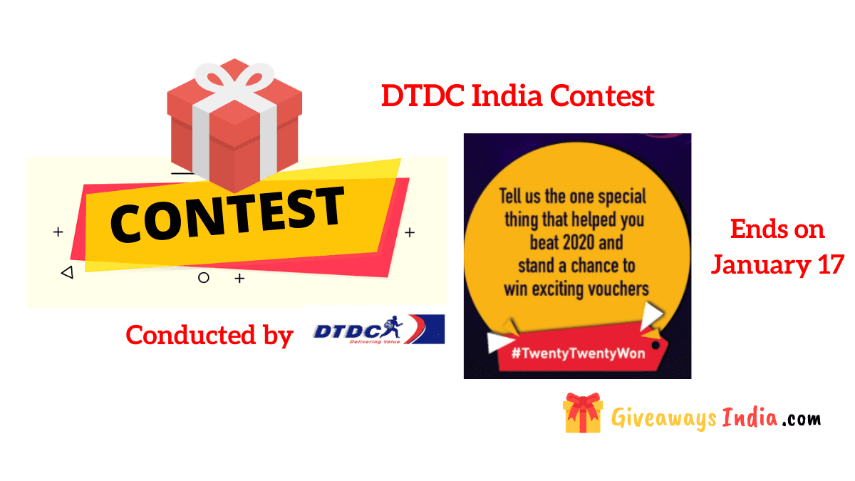 DTDC India Contest