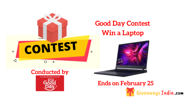 Good Day Win a Laptop