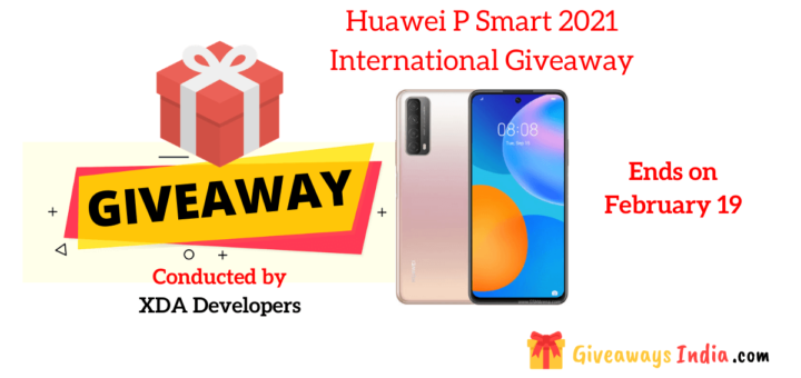 Huawei P Smart 2021 International Giveaway