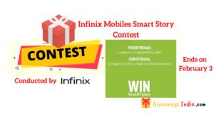 Infinix Mobiles Smart Story Contest