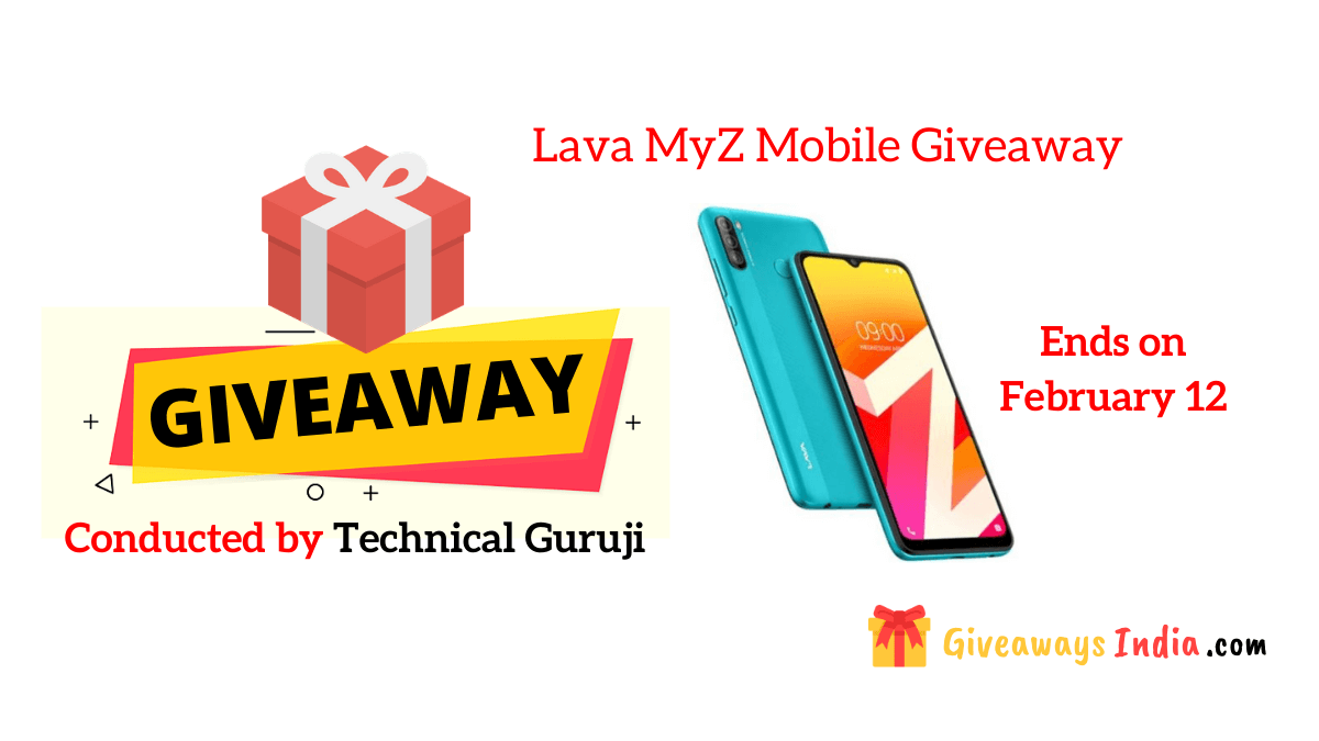 Lava MyZ Mobile Giveaway